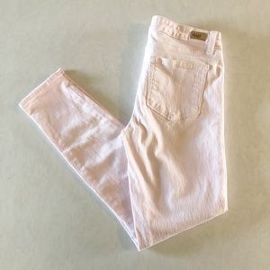 Paige Light Pink Verdugo Ankle Jeans Size 27